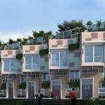 Rumah Cluster Serasa Apartemen di Lebak Bulus