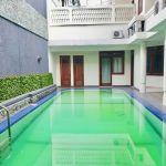 Rumah Klasik Amerika 2 Lantai di Kebayoran Baru