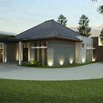 Rumah Mewah Baru di Cipaganti