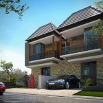 Modern House in Islamic Residence in Malang City