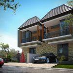 Rumah Modern dalam Hunian Islami di Kota Malang