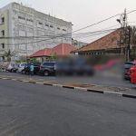 Rumah Pinggir Jalan di Pasar Baru, Jakarta Pusat