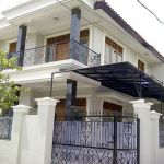 2-Storey Minimalist House with Hook Position in Tebet