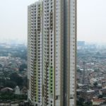 Unit 1BR di The Wave Apartment, Lantai 33
