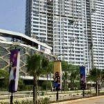 Unit Apartemen 2BR di Grand Kamala Lagoon Bekasi, Lantai 16