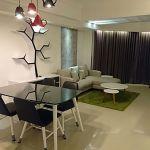 Unit Apartemen Eksklusif di Kondominium Taman Anggrek, Lantai 40