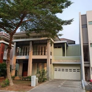 Rumah Modern 2 Lantai di Alam Sutera
